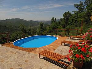 toskana ferienhaus mit pool in der toscana. Black Bedroom Furniture Sets. Home Design Ideas