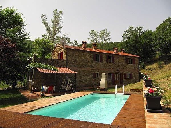 Ferienhaus in der toskana mit pool arno - Ferienhaus formentera mit pool ...