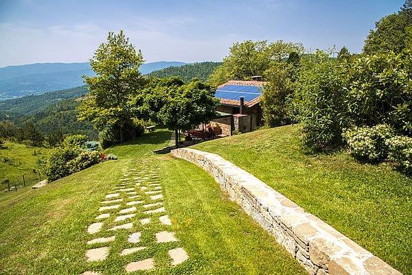 Toskana ferienhaus mit pool in der toscana santi - Toskana garten ...