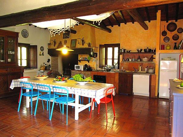 ferienvilla mit pool in der toskana casale di renata - Toskana Küche
