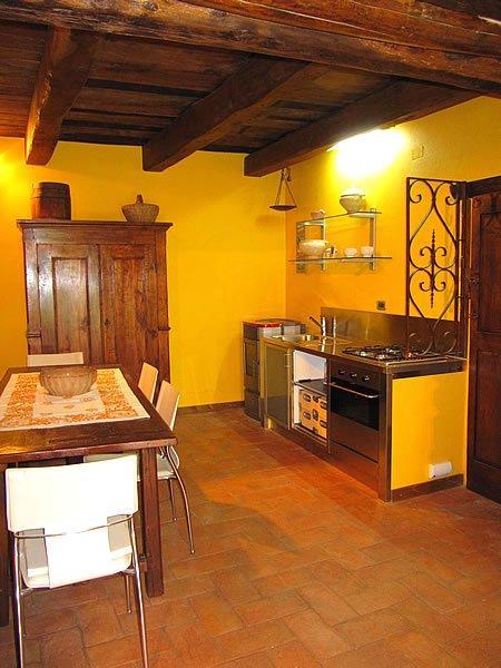 toskana - ferienhaus mit whirlpool lucia in der toscana. - Toskana Küche