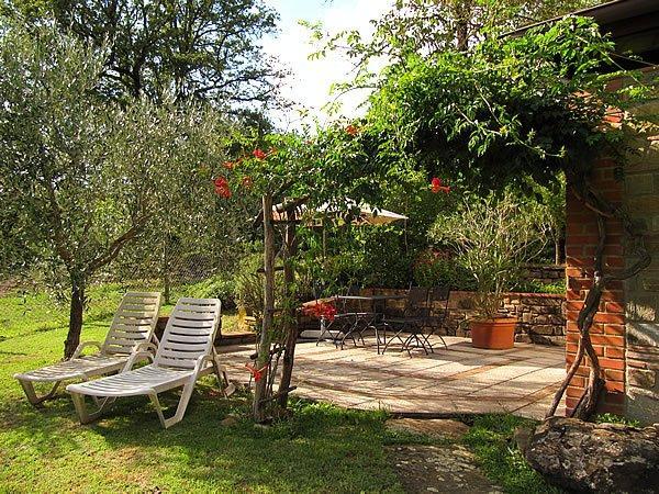 Toskana ferienwohnung mit pool josefina - Toskana garten ...