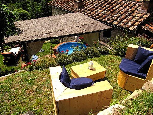Toskana ferienhaus mit whirlpool lucia in der toscana - Toskana garten ...