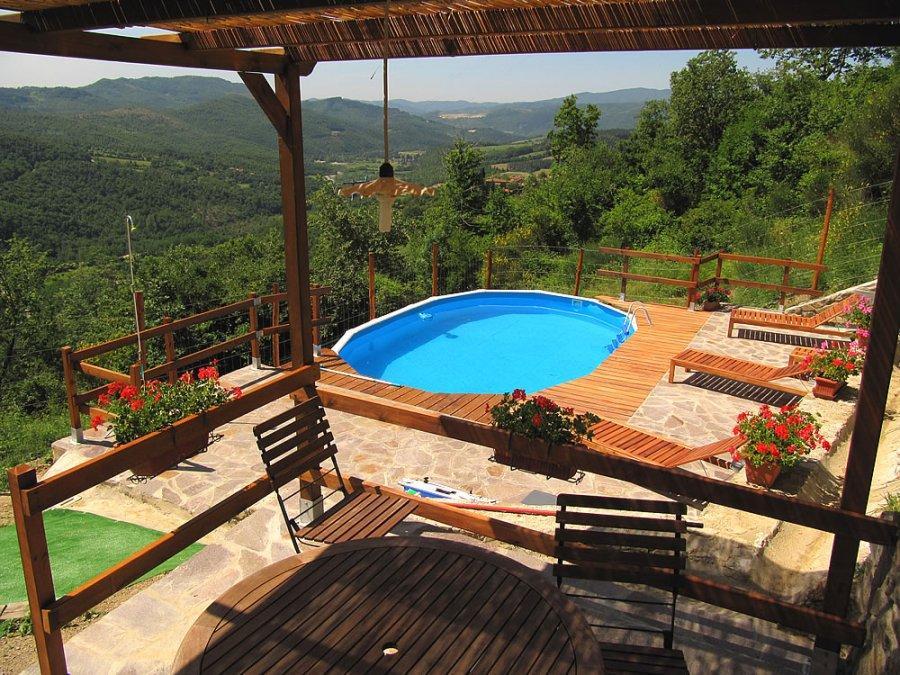 Toskana ferienhaus mit pool in der toscana - Formentera ferienhaus mit pool ...