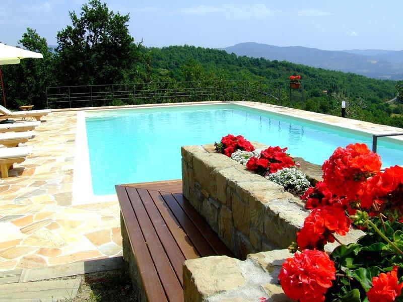 villa mit pool in der toskana villa rosa. Black Bedroom Furniture Sets. Home Design Ideas