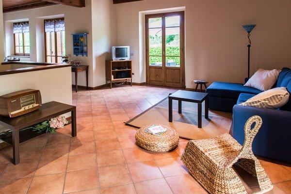 Toskana Ferienhaus Whirlpool Bea - Whirlpool im wohnzimmer