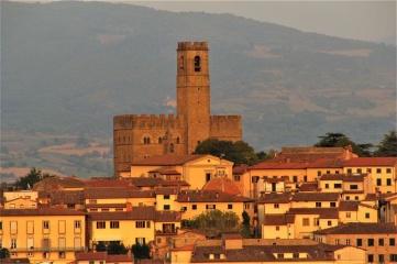 Burgen im Casentino - Toskana